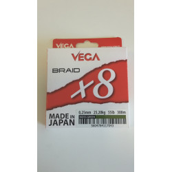 HILO VEGA BRAID X 8 MOSS...