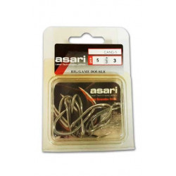 Hooks Asari double inox Nº3